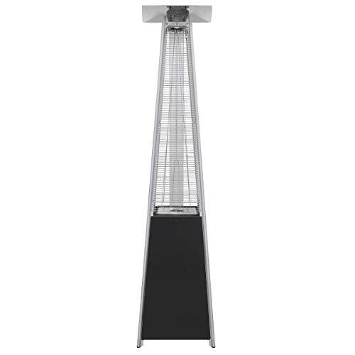 Dellonda Pyramid Gas Patio Heater 13kW for Commercial & Domestic Use, Black - DG98