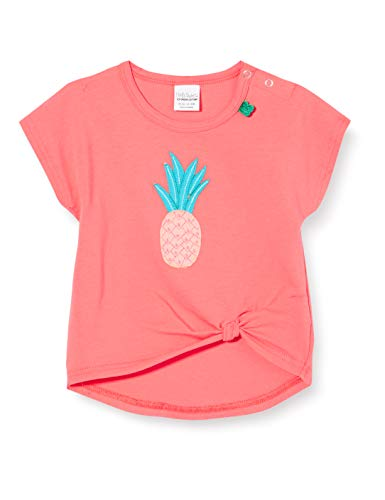 Fred'S World By Green Cotton Fruit Pineapple S/s T Baby T-Shirt, Rouge (Coral 016164001), 98 Bébé Fille