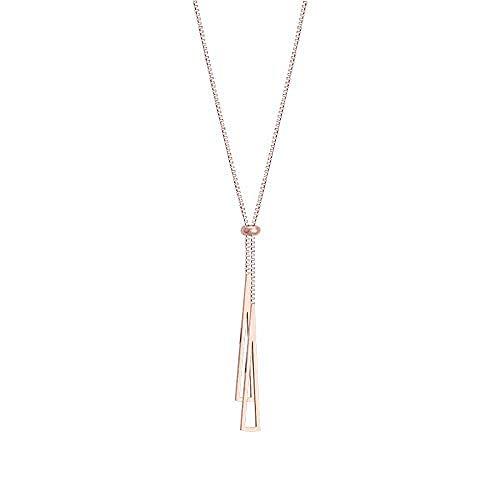 huangxuanchen co.,ltd Collar Collar Cadena De Clavícula Femenina Simple Temperamento Colgante De Todo Fósforo