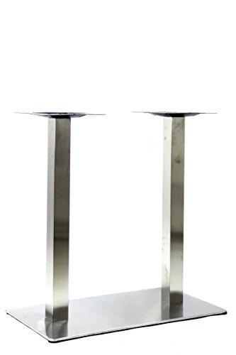 Supporto da tavolo, base tavolo, struttura in acciaio inox, 72 cm -'Frankfurt'
