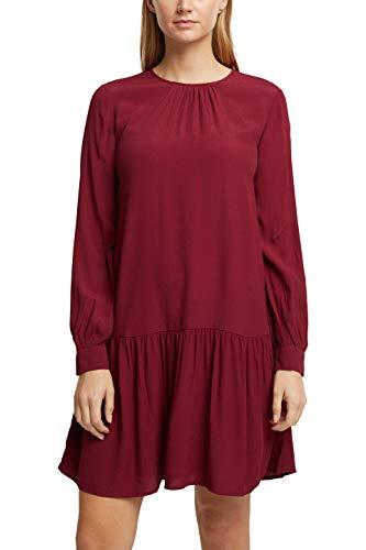 ESPRIT 100EE1E317 Vestito, 600/Bordeaux Red, 46 Donna