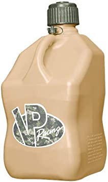 VP Racing Fuels 5 Gallon Square Motorsport Racing Utility Container Tactical Tan: image