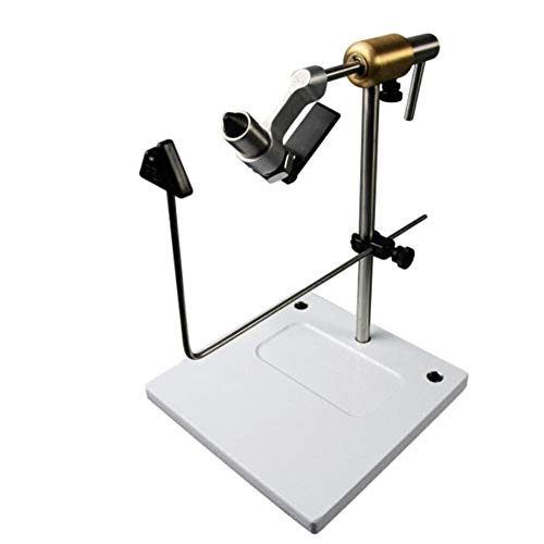 Rotary Fly Tying Vise - Peak Fishing Vise With Pedestal Base