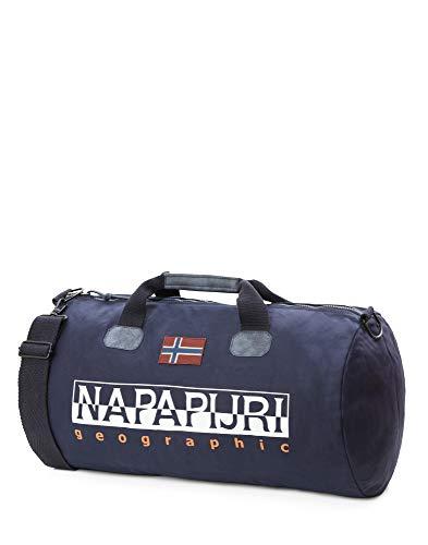 Napapijri Sac de Sport Grand Format, Blu Marine (Bleu) - N0YIY4