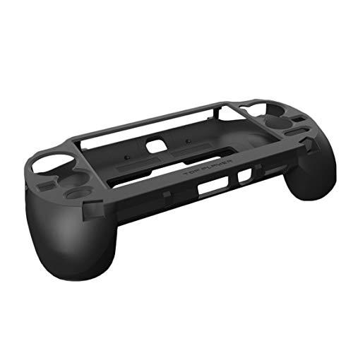 Funnyrunstore Gamepad Hand Grip Joystick Estuche Protector Controlador de Juegos con Disparador L2 R2 para Sony PS Vita 1000 PSV1000 (Negro)
