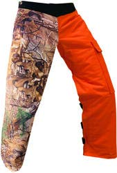 """Forester 40"""" Realtree Reversible Chainsaw Chap"""