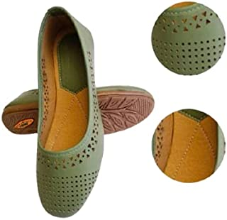 Family Fashion MART Women's Laser-Belly-Green (S.NO-12)