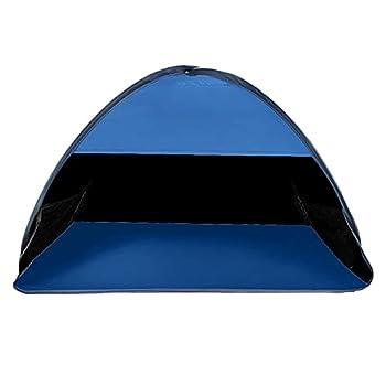 Pop Up Tente De Plage Automatique Abri Soleil Imperméable Protection Anti-uv Pour Camping En Plein Air Pêche Pique-nique L.