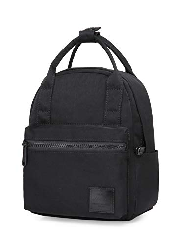 HotStyle 8821s Extra Mini Backpack Purse Cute for Women, Black
