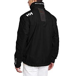 Helly Hansen Crew Midlayer Chaqueta deportiva impermeable, Hombre, Negro (Black 990), L
