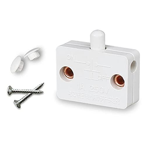 Nihlsen Schrankschrank Lichtschalter Automatischer Rücksetzschalter Haushaltsschranktür Steuerschalter Garderobenlichtschalter