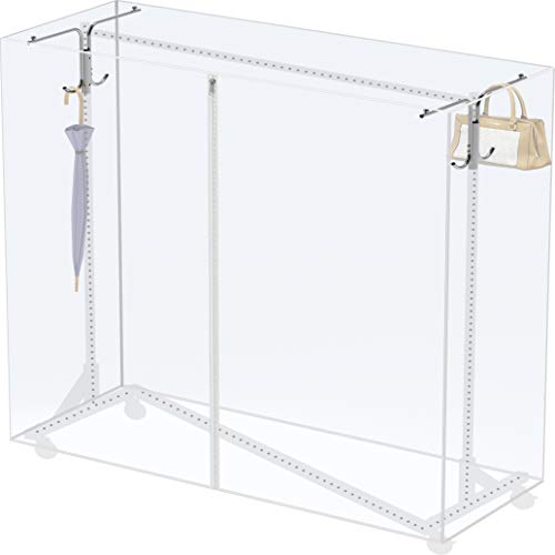 Cover and Tube Bracket for SimpleHouseware Z-Base Garment Rack (Garment Rack NOT Included)