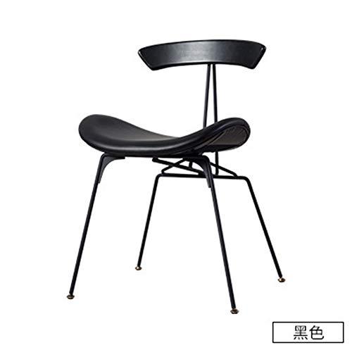 Draaiccu keukenrek Chair ijzer Noordse kunst met leuningen Cafe eettafel en stoelen Moda creatief eenvoudig hoteltafel en stoelen geschikt voor desserts Shop Coffee Stud