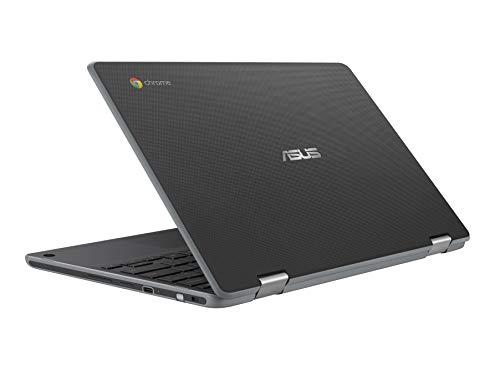 """Asus Chromebook Flip C214 11.6"""" 1366 x 768 Celeron N4000 1.1 GHz 4 GB Memory 32 GB eMMC Storage 2-in-1 Laptop"""