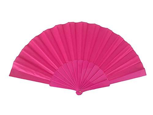 Spaanse flamenco waaier fel roze