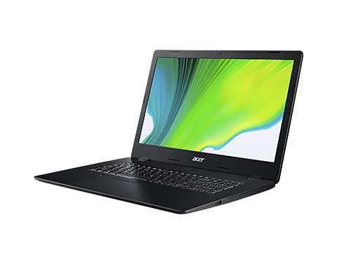 Acer Aspire 3 A317-52-5149 Portátil Negro 43,9 cm (17.3') 1600 x 900 Pixels 10ª generación de procesadores Intel CoreTM i5 8 GB DDR4-SDRAM 512 GB SSD Wi-FI 5 (802.11ac) Windows 10 Home