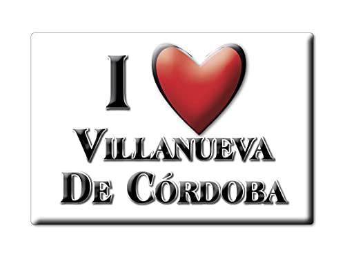 Enjoymagnets Villanueva DE CÓRDOBA (CO) Souvenir IMANES DE Nevera ESPAÑA ANDALUCÍA IMAN...