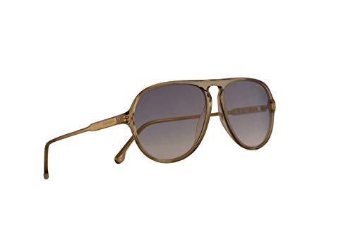 Carrera 198/S Sunglasses Yellow w/Blue Gold Lens 57mm 40G1V CA198/S 198S