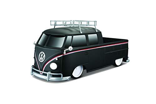 MaistoMaisto Tech R/C VW Bus T1, Pick-up (RTR): Ferngesteuerter VW Pick-up-Bus im Maßstab 1:16, Reichweite ca. 20 Meter, 31 cm, mattschwarz (582048)