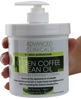 Green Coffee Bean Oil Thermo-firming Cream 16oz Spa Size by Advanced Clinicals