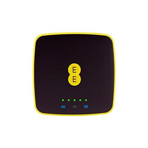 Alcatel-EE40 4G LTE WLAN-router in schwarz (entsperrt) Verwendet