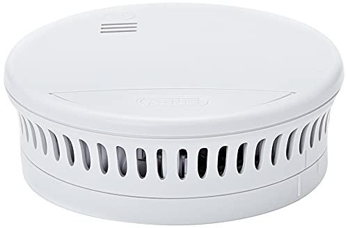 ABUS Rauchmelder RWM90 geeignet für Wohnräume und Kellerräume - 5 Jahre Batterie - 85db Alarmlautstärke - weiß - 89520