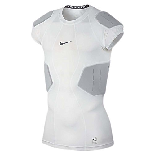 Nike Pro Mens Hyperstrong Core Football Shirt White