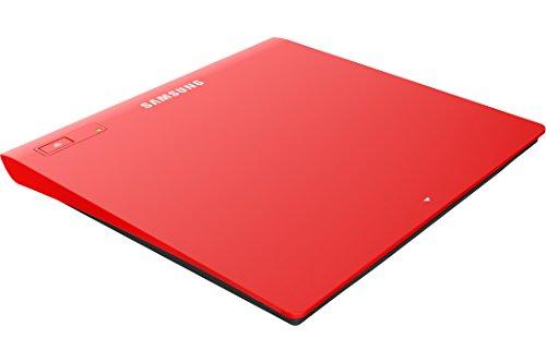 SAMSUNG TSST Ultra-Slim Optical Drives SE-208GB/RSRD Red, M-Disc...
