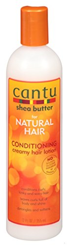 Cantu Natural Conditioning Crèmige haarlotion, sheaboter 355 ml