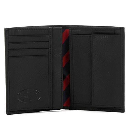 Tommy Hilfiger Johnson N/S Wallet W/Coin Pocket, Portafoglio Uomo, Nero (Schwarz (Black 990), 10x14x2 cm