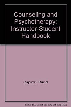 Paperback Counseling and Psychotherapy: Instructor-Student Handbook Book