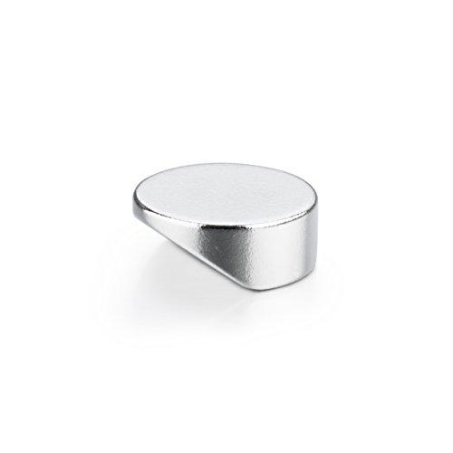 20 runde CLICK-Powermagnete | klein, edel, extrem stark und sehr leicht zu lösen | Neodym Magnete mit design-geschütztem Kippmechanismus