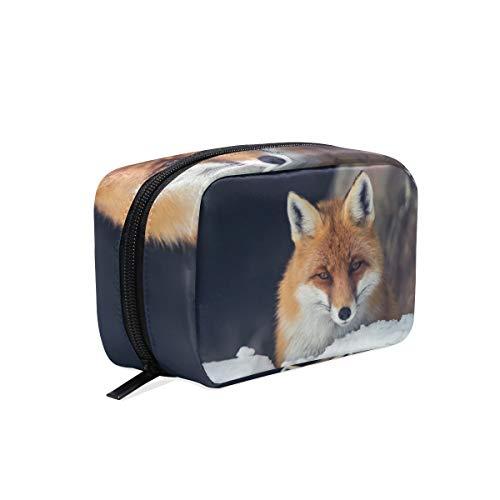 Kosmetiktasche Snowfield Fox Cosmetic Pouch Clutch