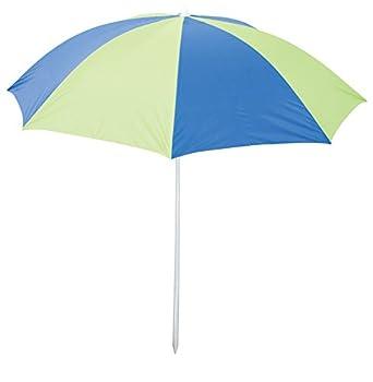 Rio Brands Deluxe 6  Sunshade Umbrella - Blue/Lime