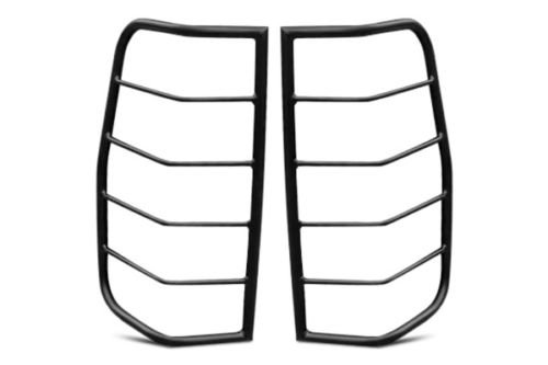 Steelcraft 32250 09-15 DODGE RAM TAILLIGHT (EXCEPT 09 2500 SERIES) GUARDS BLK Tail Light Guards