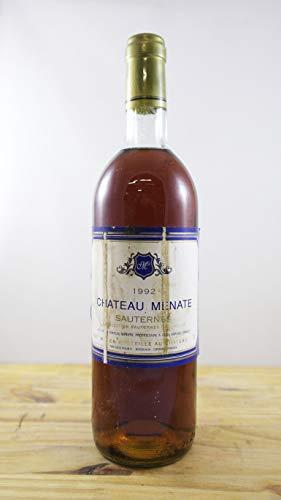 Vino Cosecha 1992 Château Menate Botella