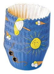 Kaiser Bakeware Mini-Papier-Backförmchen für den Sommer