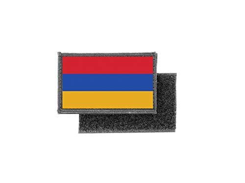 Aufnäher patch aufbügler gedruckt flagge fahne armenien