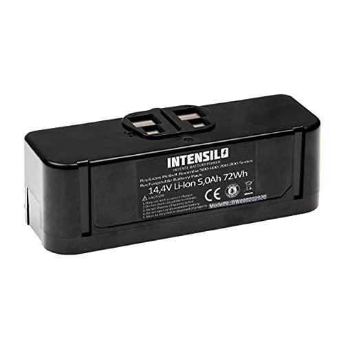 INTENSILO Batería recargable compatible con iRobot Roomba 695, 696, 801, 805, 850, 860, 877 aspiradora, robot limpieza (5000 mAh, 14,4 V, Li-Ion)