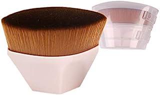 JOSALINAS Foundation Makeup Brush Fast Flawless Application Blusher Liquid Cream Powder Cosmetic Face Blending Tool, Pink