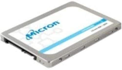 Micron 1300 512 GB Solid State Drive (SATA 600), 6,4 cm (2,5 Zoll), 300 TB (TBW), intern, 530 MB/s maximale Lesegeschwindigkeit, 520 MB/s maximale Schreibübertragungsrate, 256 Bit Verschlüsselung, STA