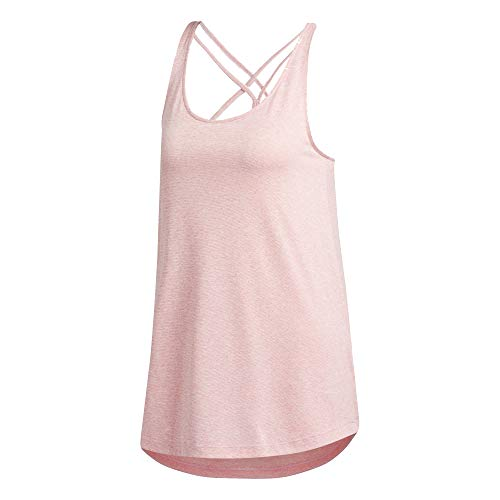 adidas Tunic Women Tank Top (L, pink/White)