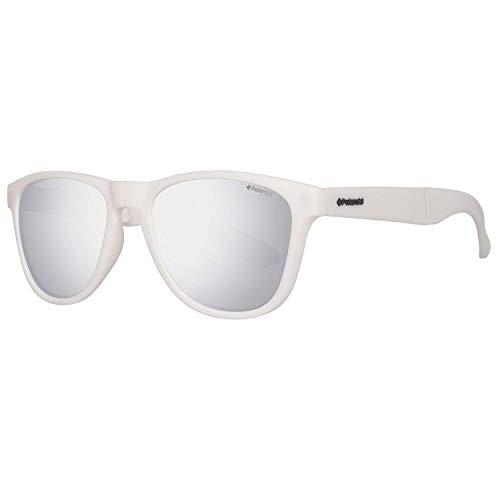 POLAROID P8448 557CB/JB Polaroid Sonnenbrille P8448 55 7CB/JB Wayfarer Sonnenbrille 55, Weiß