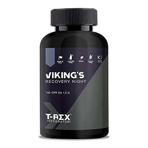 VIKINGs Kyowa Quality® GH Plus Integratore a base di Glutammina, Arginina, Lisina, Acido Aspartico, Fosfatidilserina, Ornitina OKG   Per recupero muscolare notturno e aumento anabolismo