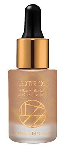 Catrice Cosmetics Soleil D'été Sheer Serum Bronzer Nr. C01 InsTANned Complexion Inhalt: 14ml Liquid Bronzer für leichte Bräune im Gesicht.