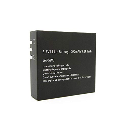 Easypix 01473 Camera/Camcorder Battery Lithium-Ion (Li-Ion) 1050 mAh - Camera/Camcorder Batteries (Lithium-Ion (Li-Ion), 1050 mAh, Kamera, GoXtreme Barracuda, 3,7 V, 3,885 Wh)