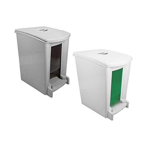 La mejor comparación de Bote de basura de baño Top 5. 12