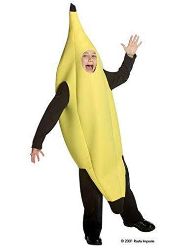 Rasta Imposta Childrens Costume, Deluxe Banana, 7-10