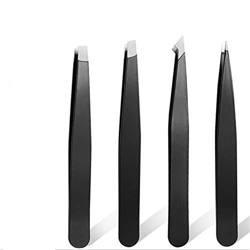 Pincette Pince Brucelle Meilleure Précision pour Sourcils Pince À sourcils Professionnel Epilation Pincettes Sourcils Produits Slanted Pincettes black