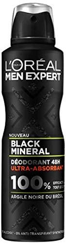 L'Oréal Men Expert - Men Expert - Déodorant Homme Action 48h - Black Mineral